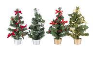 Stromček vianočný, 20 cm, assort