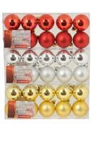 Vianočné ozdoby 4cm 10ks guľa