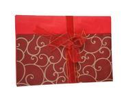 Vianočný baliaci papier 50x70cm + stuha 2m assort
