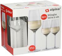 Pohár na biele víno ALPINA 370ml 6ks