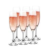 Pohár na šampanské LARA 220ml 6ks