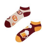 Členkové veselé ponožky DEDOLES pivo 35-38