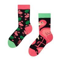 Detské veselé ponožky DEDOLES plameniaky 27-30