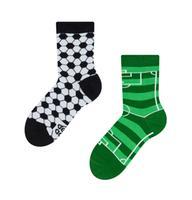 Detské veselé ponožky DEDOLES futbal 23-26