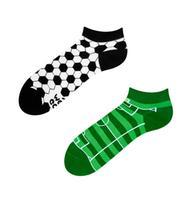 Členkové veselé ponožky DEDOLES futbal 43-46