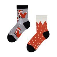 Detské veselé ponožky DEDOLES líška 23-26