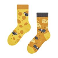 Detské veselé ponožky DEDOLES syr 31-34