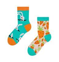 Detské veselé ponožky DEDOLES zajac a mrkva 27-30