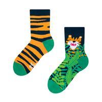 Detské veselé ponožky DEDOLES tiger 27-30