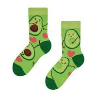 Detské veselé ponožky DEDOLES avokádová láska 27-30