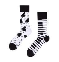 Veselé ponožky DEDOLES klavír 35-38