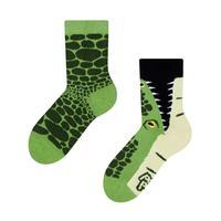 Detské veselé ponožky DEDOLES krokodíl 31-34