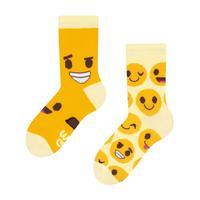 Detské veselé ponožky DEDOLES smajlíky 27-30