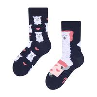 Detské veselé ponožky DEDOLES spiaca lama 27-30