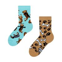 Detské veselé ponožky DEDOLES jazvečík 23-26