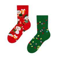 Detské veselé ponožky DEDOLES elfové 27-30