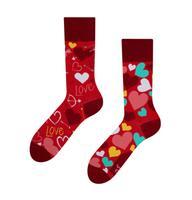 Veselé ponožky DEDOLES srdiečka 35-38
