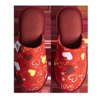Veselé papuče DEDOLES srdiečka 40-41