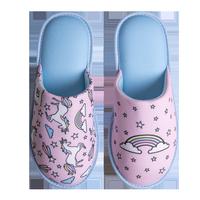 Veselé papuče DEDOLES dúhový jednorožec 38-39