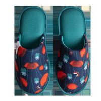 Veselé papuče DEDOLES lienky a červené maky 40-41
