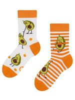 Detské veselé ponožky DEDOLES vtipné avokádo 27-30