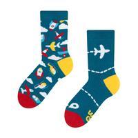 Detské veselé ponožky DEDOLES lietadlá 27-30