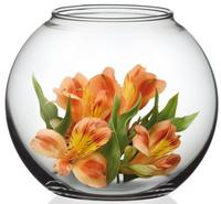 Váza guľatá Simax, priemer 21,5 cm