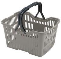 Plastový nákupný košík HEIDRUN 18l