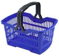 Plastový nákupný košík HEIDRUN 25l MIX farieb