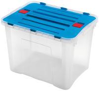 Plastový úložný box s vekom HEIDRUN Dragon 42l