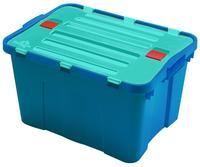 Plastový úložný box s vekom HEIDRUN Dragon 34l