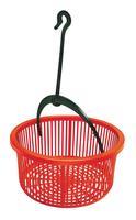 Plastový košík na štipce s háčikom HEIDRUN 19cm