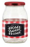 Zavárací pohár s viečkom CERVE 1000ml Sweet Home