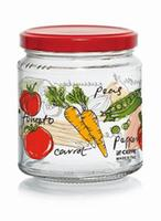 Zavárací pohár s viečkom CERVE 300ml zelenina