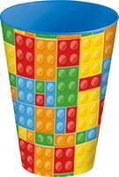Plastový téglik 430ml kocky