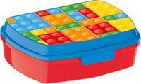 Plastový desiatový box 17,5x14,5x6,5cm kocky