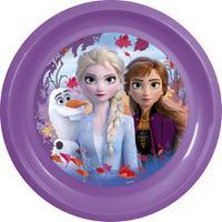 Plastový tanier Ľadové kráľovstvo 22cm