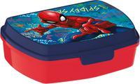 Plastový desiatový box Spiderman 17,5x14,5x6,5cm