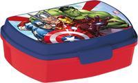 Plastový desiatový box Avengers 17,5x14,5x6,5cm