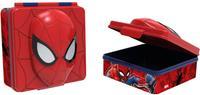 Plastový desiatkový box 3D Spiderman 600ml