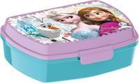 Plastový desiatový box Ľadové kráľovstvo 17,5x14,5x6,5cm