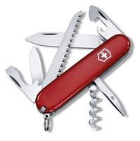 Vreckový nôž VICTORINOX Camper červený