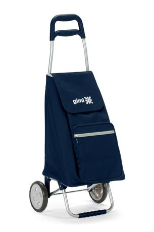 vileda Gimi nákupná taška na kolieskach Argo modrá 45 l