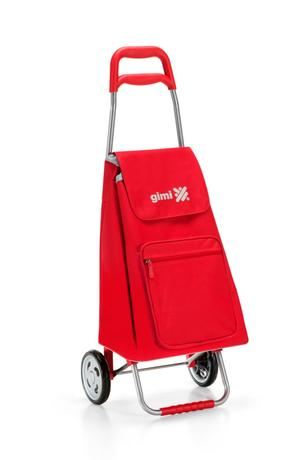vileda Gimi nákupná taška na kolieskach Argo červená 45 l