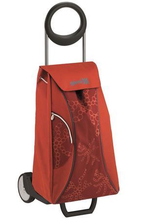 vileda Gimi Market Queen nákupná taška na kolieskách modrá 48 l