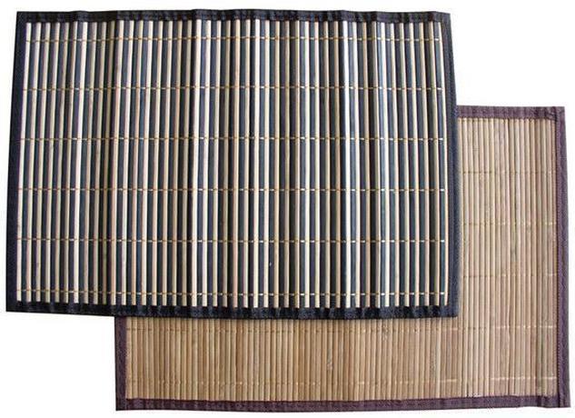 Bambusové prestieranie s obrubou, set 4 ks, 3...