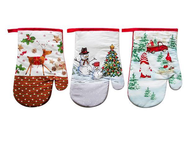 Kuchynská rukavica TORO vianočný MIX