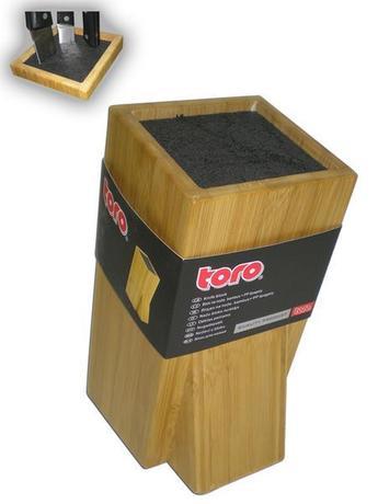 Blok na nože, bambus