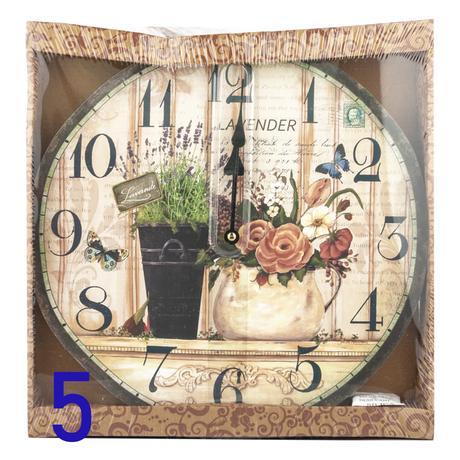 Nástenné hodiny, okrúhle, rôzne motívy