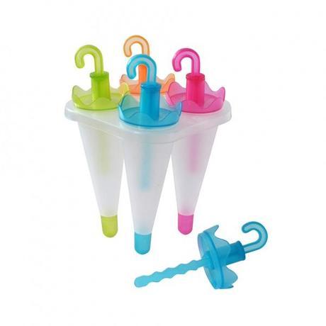 TORO Plastové tvorítko na zmrzlinu TORO dáždnik 4ks
